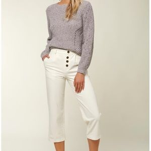 Seger Woven Crop Pants in Naked